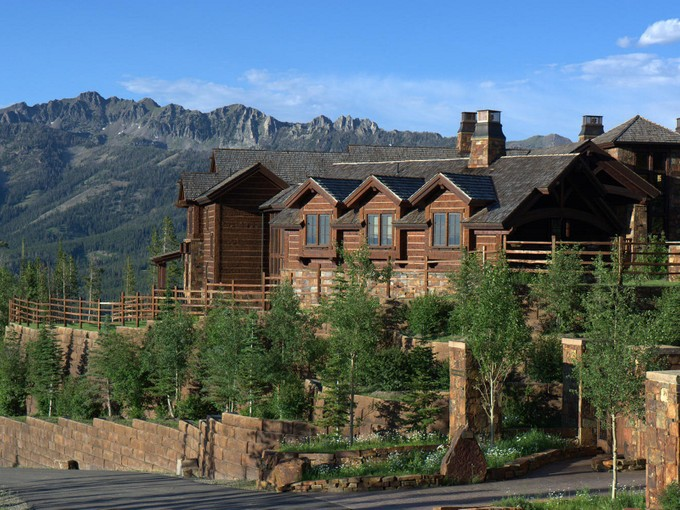 Single Family Home for sales at Belz Chateau 5 Lone Camp Road Big Sky, Montana 59716 United States
