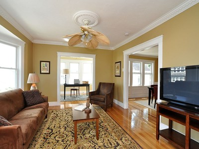 Condominium for sales at Spacious Updated Duplex 28 Owencroft St Unit 2 Boston, Massachusetts 02124 United States