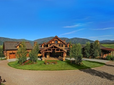 Single Family Home for sales at Moonshadow Ranch 30855 RCR 14C Steamboat Springs, Colorado 80487 United States