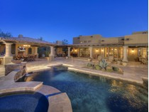 Nhà ở một gia đình for sales at Authentic Territorial Custom Home In Guard-Gated Community Of Whisper Rock 7298 E Lower Wash Pass   Scottsdale, Arizona 85266 Hoa Kỳ