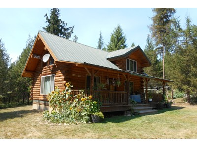 Nhà ở một gia đình for sales at Picturesque 160+ Acres with Log Cabin 6998 Perkins Lake Rd Moyie Springs, Idaho 83845 Hoa Kỳ
