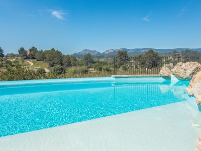 Частный односемейный дом for sales at Country property with mountain views in Calviá  Calvia, Майорка 07008 Испания