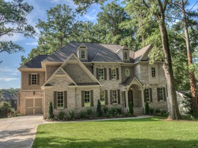 Single Family Home for sales at Stunning Custom Design Home 3135 Margaret Mitchell Drive NW Atlanta, Georgia 30327 United States
