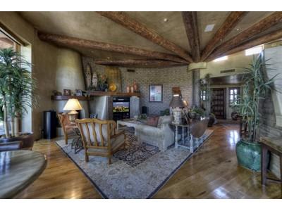 Casa Unifamiliar for sales at True Adobe Home on Golf Course in Estancia 27621 N 96th Place Lot #27 Scottsdale, Arizona 85262 Estados Unidos