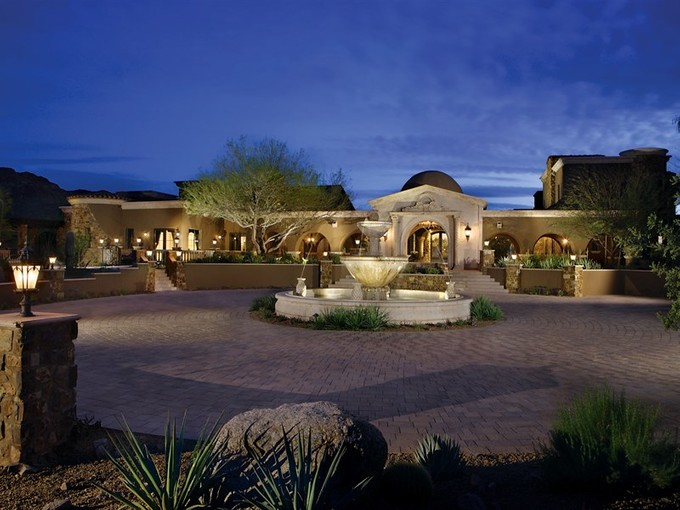 Single Family Home for sales at Mediterranean Masterpiece On 6.5+ Acres In Gated North Scottsdale Community 23036 N Via Ventosa Drive Scottsdale, Arizona 85255 United States