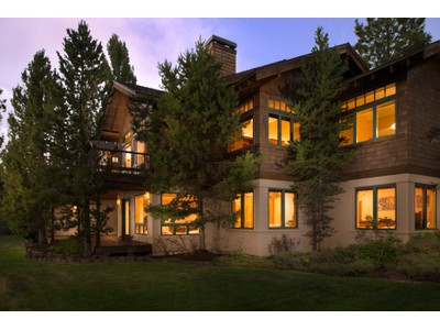 Single Family Home for sales at Impressive Cascade Mtn Views - 1.18 Acres 2731 NW Three Sisters Drive Bend, Oregon 97701 United States