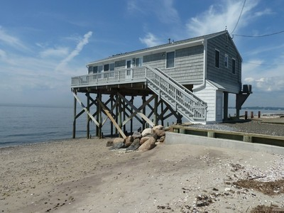 Single Family Home for sales at Beach Home with Fabulous Views 2167 Fairfield Beach Road Fairfield, Connecticut 06824 United States