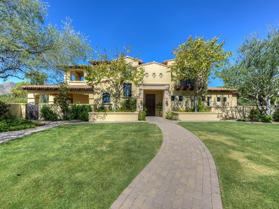 Nhà ở một gia đình for sales at Elegant Estate on Private 2+ Acres in Paradise Valley 8920 N Martingale Rd Paradise Valley, Arizona 85253 Hoa Kỳ