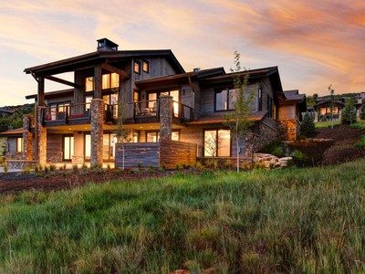 Single Family Home for sales at Exquisite New Mountain Modern Construction 7802 Glenwild Dr Park City, Utah 84098 United States