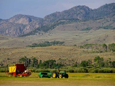 Farm / Ranch / Plantation for sales at Teton Diablo Ranch Teton Diablo Ranch Scab Creek Road Boulder, Wyoming 82923 United States
