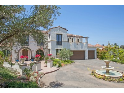 Casa para uma família for sales at 7733 La Orquidia  Rancho Santa Fe, Califórnia 92067 Estados Unidos