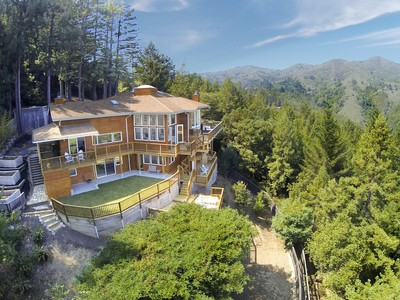 Single Family Home for sales at 10 Acre Mountain Retreat 820 Edgewood Avenue Mill Valley, California 94941 United States