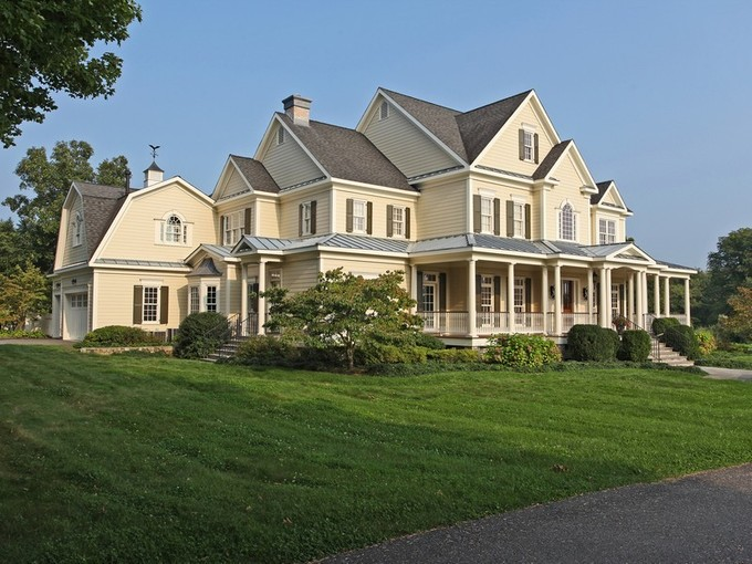 Single Family Home for sales at Outstanding Custom Built Home 240-260 Main St. South  Bridgewater, Connecticut 06752 United States