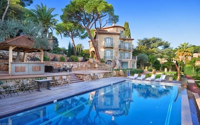 独户住宅 for sales at Château La Cima Route Forestière Villefranche Sur Mer, 普罗旺斯阿尔卑斯蓝色海岸 06230 法国