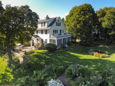 Maison unifamiliale for sales at 4 Oak Hill 4 Oak Hill Road  Mount Desert, Maine 04660 États-Unis