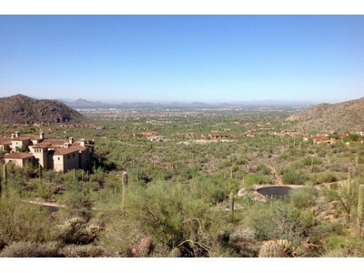 Terreno for sales at Explosive Views From This Private Hillside Lot High In Silverleaf's Upper Canyon 21113 N 112th Street #1722 Scottsdale, Arizona 85255 Stati Uniti