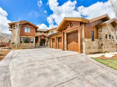 Maison unifamiliale for sales at Mountain Luxury Without Compromise 4879 Last Stand Dr Park City, Utah 84098 États-Unis