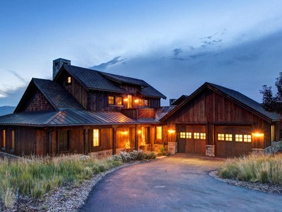 Single Family Home for sales at Stunning Trapper Cabin Fully Furnished with Ski Views 7965 Western Sky   Park City, Utah 84098 United States