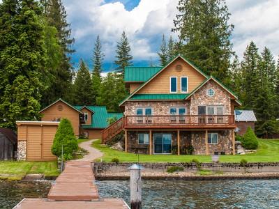 Nhà ở một gia đình for sales at 5 Ac Reeder Bay Lot in Nordman, ID 16 Sunrise Lane Nordman, Idaho 83848 Hoa Kỳ