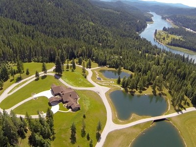 Single Family Home for sales at Wolf Creek Ranch 932 Gregory Rd Metaline Falls, Washington 99153 United States