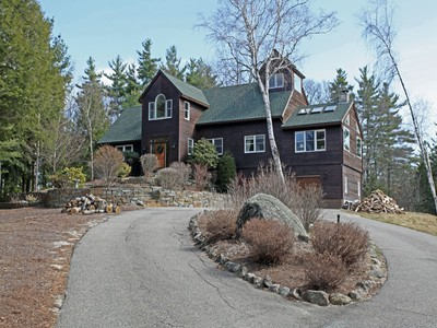 Single Family Home for sales at 9 Room Post and Beam Contemporary 458 Gillingham Drive Newbury, New Hampshire 03255 United States