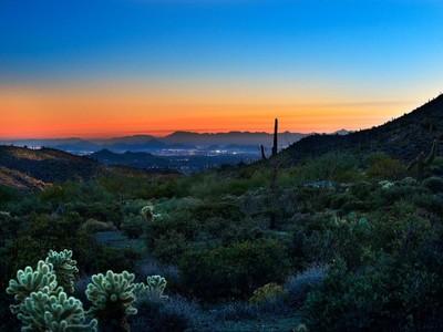 Đất đai for sales at Quiet & Private Custom Homesite in Desert Mountain 9332 E Grapevine Pass #345 Scottsdale, Arizona 85262 Hoa Kỳ