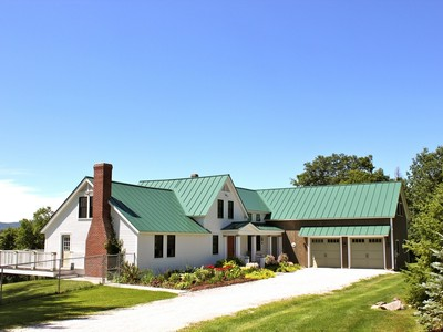 Einfamilienhaus for sales at Vermont Vernacular 514 Robinson Road  Shrewsbury, Vermont 05738 Vereinigte Staaten
