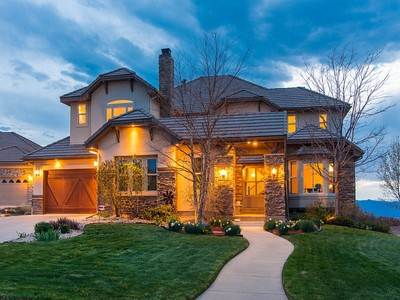 Single Family Home for sales at 12495 Ventana Mesa Circle  Castle Rock, Colorado 80108 United States