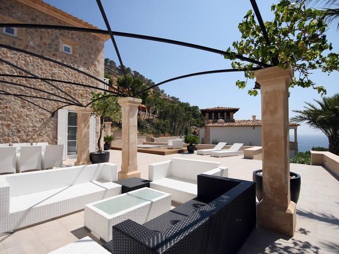 Maison multifamiliale for sales at Newbuilt Seaview Villa in Port Andratx  Andratx, Majorque 07157 Espagne