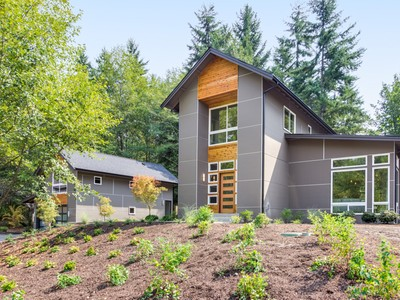 Single Family Home for sales at Urban Meets Country 9235 NE Ruys Lane Bainbridge Island, Washington 98110 United States
