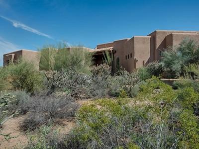 Villa for sales at Remarkable Desert Compound In Guard Gated Sincuidados 8300 E Dixileta Drive #236 Scottsdale, Arizona 85266 Stati Uniti