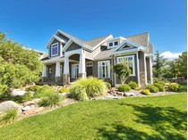 Single Family Home for sales at Sophisticated Mountain Modern Home 15193 Tall Woods Dr   Draper, Utah 84020 United States