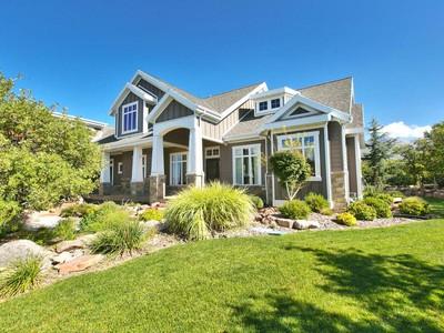 단독 가정 주택 for sales at Sophisticated Mountain Modern Home 15193 Tall Woods Dr  Draper, 유타 84020 미국