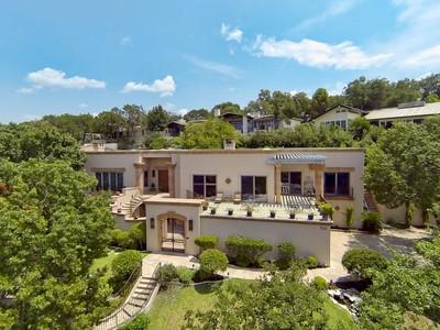Nhà ở một gia đình for sales at Stunning Spanish Style Estate 706 Cutlass Austin, Texas 78734 Hoa Kỳ