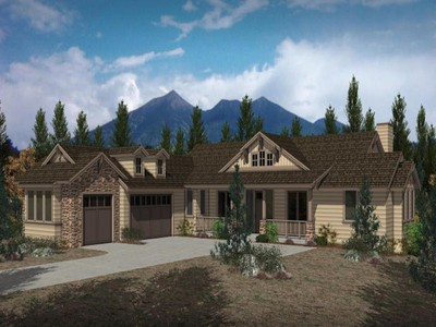 Maison unifamiliale for sales at Custom Single Level Home 2153 N Cobblestone CIR Flagstaff, Arizona 86001 United States