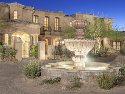 Single Family Home for sales at Magnificent Private Estate Sits On 4 Acres In Gated North Scottsdale Community 28070 N 91st Street Scottsdale, Arizona 85262 United States