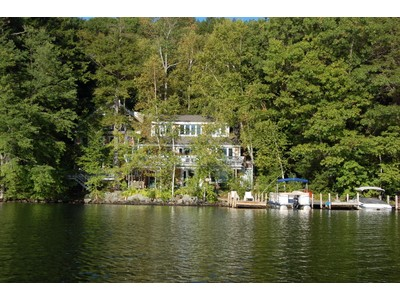 Single Family Home for sales at Spacious and Fun Custom Contemporary! 54 Garnet Street Sunapee, New Hampshire 03782 United States
