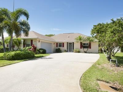Single Family Home for sales at Lovely Home in Sebastian 449 Azine Terrace   Sebastian, Florida 32958 United States