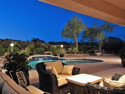 Single Family Home for sales at Lovely North Scottsdale Home with Fabulous Views 8318 E La Junta Rd Scottsdale, Arizona 85255 United States