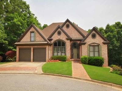 Maison unifamiliale for sales at Custom Lakefront Home 2723 Inglewood Drive Gainesville, Georgia 30504 États-Unis