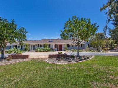 Casa Unifamiliar for sales at 7025 La Valle Plateada  Rancho Santa Fe, California 92067 United States