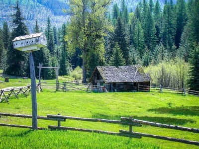 Farm / Ranch / Plantation for sales at Ranch on Meadow Creek! 200 Vaquero Road Bonners Ferry, Idaho 83845 United States