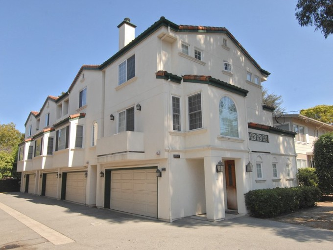 Townhouse for sales at 1404 El Camino Real #4  Burlingame, California 94010 United States