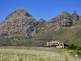 Property Of Famous Wine Farm perched high above Stellenbosch