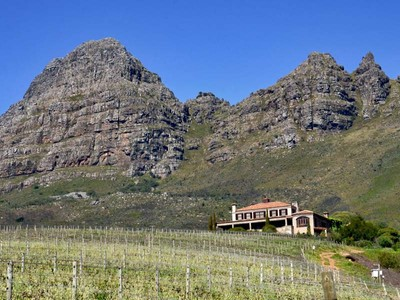 Maison unifamiliale for sales at Famous Wine Farm perched high above Stellenbosch  Stellenbosch, Cap-Occidental 7600 Afrique Du Sud