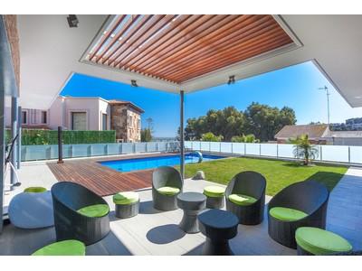 Casa para uma família for sales at Magnificent property with exclusive sea views Castelldefels, Barcelona Espanha