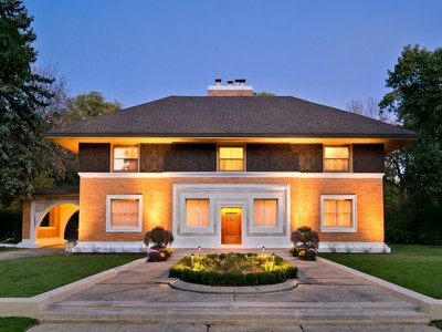 Single Family Home for sales at Frank Lloyd Wright Masterpiece Home 515 Auvergne Place River Forest, Illinois 60305 United States