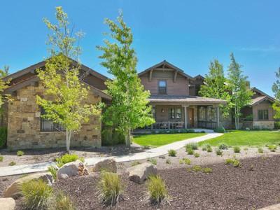 Maison unifamiliale for sales at Exquisite Home in a Private Golf Course Community 3012 E Painted Bear Trl  Heber City, Utah 84032 États-Unis