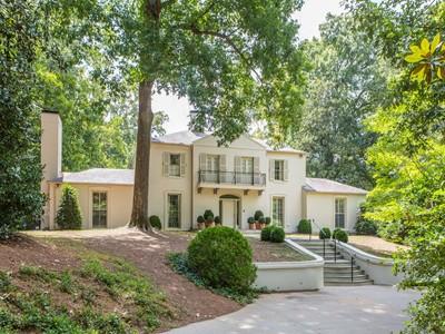 Single Family Home for sales at Buckhead Classic 1154 West Paces Ferry Road  Buckhead, Atlanta, Georgia 30327 United States