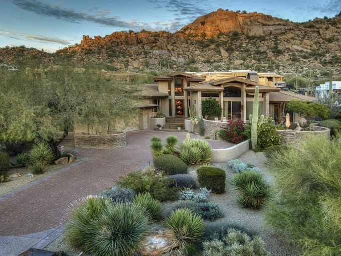 Single Family Home for sales at Elegant Soft Contemporary in Estancia 27267 N 103rd Way #176 Scottsdale, Arizona 85262 United States